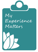 My Experience Matters Logo (Landing Page)